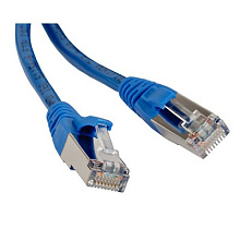 Hyperline PC-LPM-UTP-RJ45-RJ45-C6-0.5M-BL Патч-корд UTP, Cat.6, 0.5 м, синий