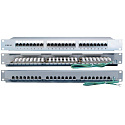 "Hyperline PP2-19-24-8P8C-C6-SH-110D Патч-панель 19"", 1U, 24 порта RJ-45 полн. экран., категория 6,"
